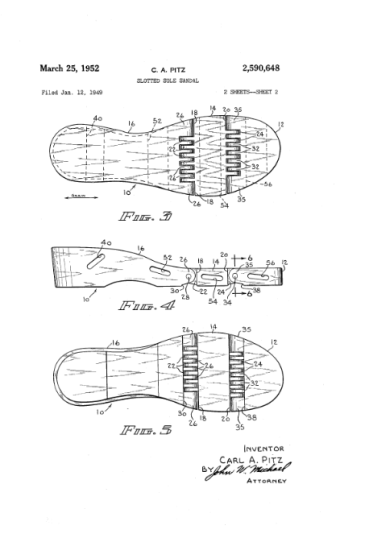 Flexiclog patent