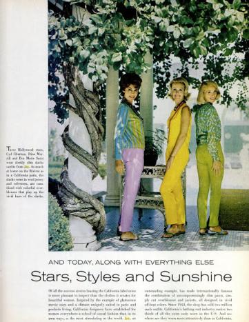 Jax editorial in Life Magazine, 19th October 1962.
