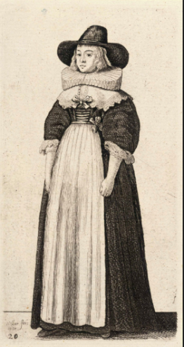 Illustration by Wenceslaus Hollar, circa 1645.