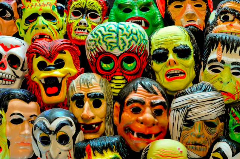 Ben Cooper assorted masks