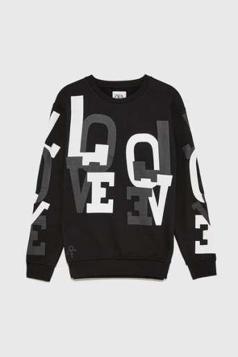 Zara x Prince Love Sweatshirt