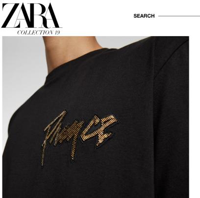 Zara X Prince Sweatshirt